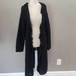 April Cornell for cornelltrading long knit sweater